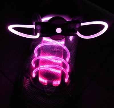 Weiva LED Schuhband Schnürsenkel pink von Weiva - Lampenhans.de