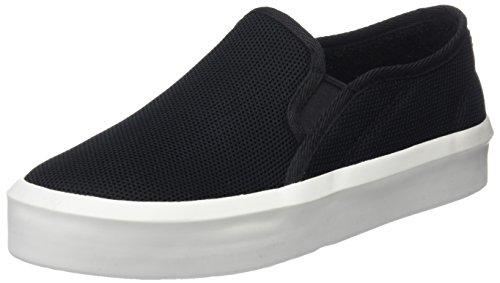 g star schuhe damen G-STAR RAW Damen Strett Slip On Sneaker, Schwarz (Black 990), 40 EU