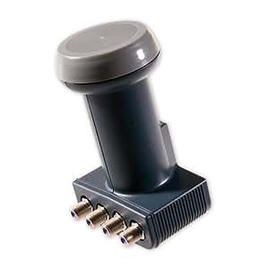 schwaiger fls994a 031 universal quattro lnb 40mm 0 2db anthrazit heimkino tv video. Black Bedroom Furniture Sets. Home Design Ideas