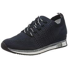 MARCO TOZZI 2-2-23750-34, Sneakers Basses Femme, Bleu (Navy Comb 890), 38 EU