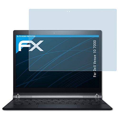 atFolix Schutzfolie kompatibel mit Dell Venue 10 7000 Folie, ultraklare FX Displayschutzfolie (2X)