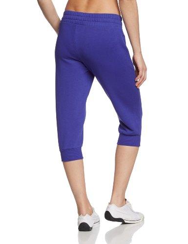 PUMA Damen 3/4 Jogginghose Capri Sweat Pants, 828086 Spectrum Blue
