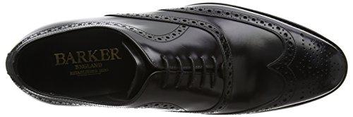 BARKER Herren Hampstead Derbys Black (Black Polished)