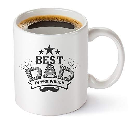The World Coffee Mug 11oz Father's Day Gift ()