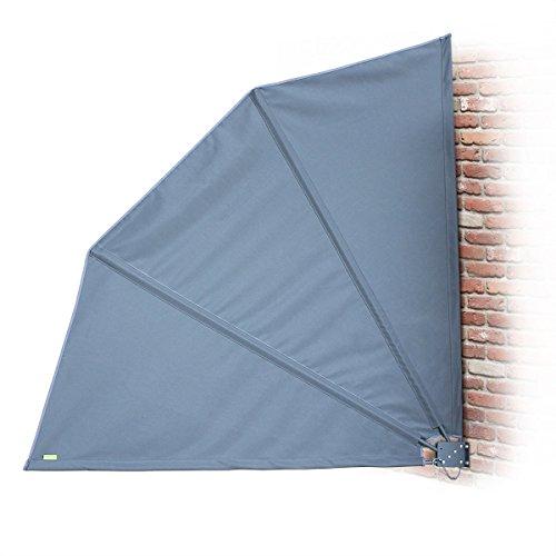 alices-garden-brise-vue-retractable-nomi-140x140cm-toile-polyester-grise-250g-m2-livre-avec-housse