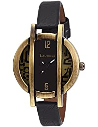 Laurels Black Color Analog Women's Watch With Strap: LWW-CHL-020204