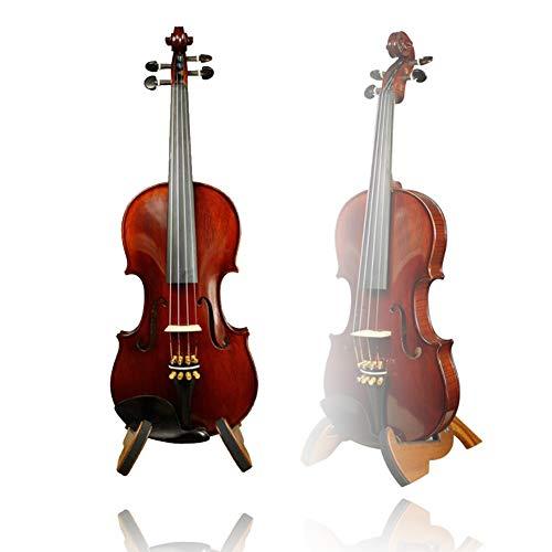 YANG Violino Kolophonium Geige Solida Performance Legno Test Fatto A Mano Adatto A Partire dai Molteplici Accessori Completa Dimensione, 5 Formati, 2 Colori yyfang (Color : Brown, Size : 3/4)