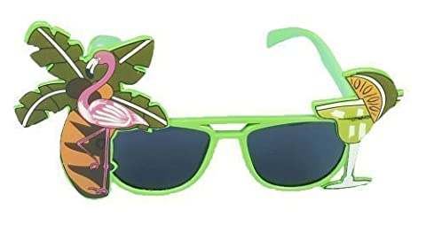 Henbrandt Flamingo Glasses Green