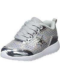 Conguitos Deportivo Glitter con Luz, Zapatos de Cordones Derby para Niñas