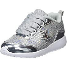 f3a808603 Amazon.es  zapatillas luces - Plateado