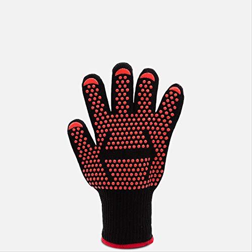 XINPIANZ Hochtemperatur-Handschuhe Isolierte Verbrühungsschutz Gummi Industrielle Toastbrot Kochen Reis Küche Verbrühungsschutz Hand Rutschfeste Abnutzung Weiblich Six Pack