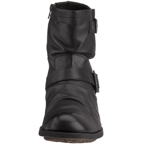 Base London Metal, Boots homme Noir (Waxy Black)