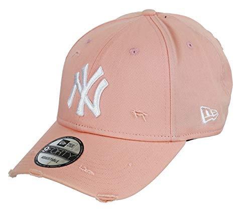 Unbekannt New Era 9forty Strapback Cap MLB New York Yankees Distressed Pink, OSFA