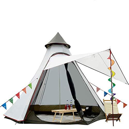 Anchor Dome-Campingzelt, doppelschichtig, wasserdicht, gegen Sturm, verdickt, für Outdoor-Camping, großes Zelt -