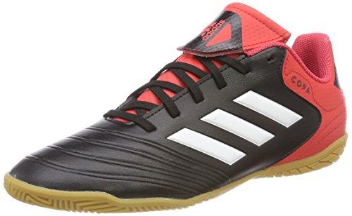 Adidas Predator Tango 18.4 TF, Botas de Fútbol para Hombre, Negro (Negbás/Ftwbla/Rojsol 000), 42 2/3 EU adidas