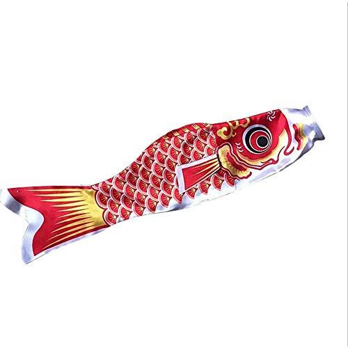 FEKETEUKI Nuovo 5 Colori 55 Centimetri Impermeabile Carpa Giapponese Windsock Streamer Appeso Bandiera Pesce Decor Aquilone Koinobori per Bambini