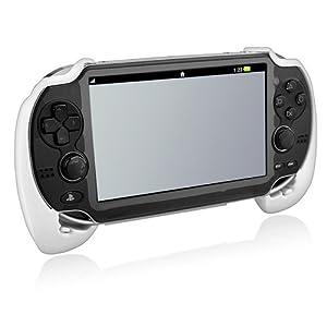 Wei� Handle Hand Grip Halter Halterung St�nder f�r Sony PSP Vita PSV