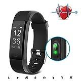 SAVFY Montre Connecté Bracelet Connecté - Tracker Activité Cardio Sport Fitness Tracker avec 14 Sport Mode/GPS Tracker/Notifications/Podometre Étanche IP67 pour Femme Homme iPhone et Android