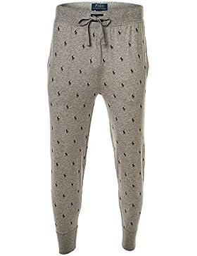 Polo Ralph Lauren Men Joggers Pant, Pantalones de chándal, Largos, Loungewear - Gris
