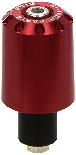 Puig 5777R Contrapesos Aluminio, Color Rojo