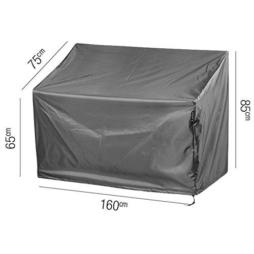 aerocover Premium Schutzhülle für Gartenbank 160x 75x 85cm