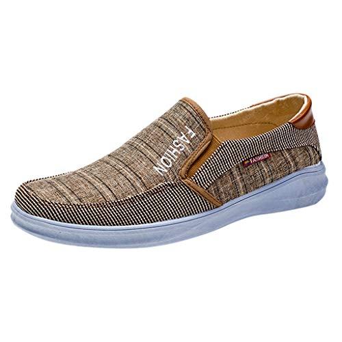 Kaister Herren Outdoor Leinwand Casual Slip On Schuhe Faule Schuhe Atmungsaktive Turnschuhe Freizeitschuhe Low top Turnschuh Textil Schuhe