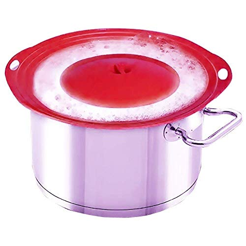 LINFON Boil Over Protector Boil Over Universal Lid With Random Color