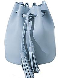 749775575e Yo donne mini borsa secchiello retro nappe coulisse in ecopelle tracolla o borsa  secchiello, Pelle in…