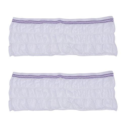 SUPVOX 2 STÜCKE Postpartum Unterwäsche Carer Hohe Taille Einweg Mutterschaft Mesh Hosen Größe L (Weiß)