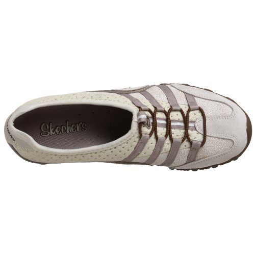 Skechers Bikers Point Blank Femmes Synthétique Chaussure de Marche Off White
