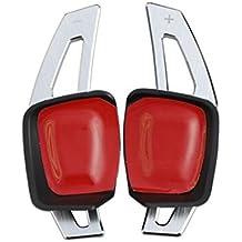 Palancas de cambio de aluminio al volante para DSG, Golf 7, MK7, VII