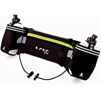 Lava Activ Cinturón de Running Hydrabelt Ajustable 2 Botellas Agua de 300 ML