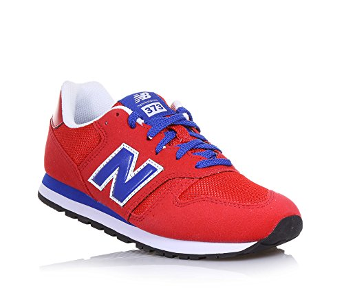 New Balance Kj373rdy M, Sneakers Basses Mixte Enfant, Rosso/Blu Rouge