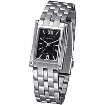 TIME FORCE Reloj Analógico para Mujer de Cuarzo con Correa en Acero  Inoxidable TF4044L01M fae9739716b5