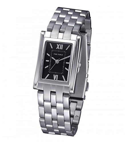 TIME FORCE Reloj Analógico para Mujer de Cuarzo con Correa en Acero Inoxidable TF4044L01M