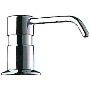 Delabie - Distributeur de savon a bec coude 120 mm reservoir de 1 litre Ref : 729012