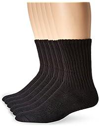 Fruit of the Loom Men's 12 Pack Full Cushion Ringspun Crew Socks