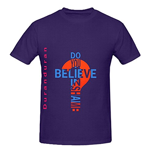 Duran Do You Believe in Shame T-shirt, 3 Colours - M to XXL