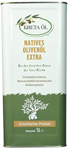 Kreta Öl - extra natives Olivenöl, 1er Pack (1 x 5 kg)