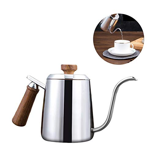 Wasserkessel Edelstahl Kaffeebereiter Kaffeekanne Schwanenhals Teekocher Aufgegossenen Filterkaffee...