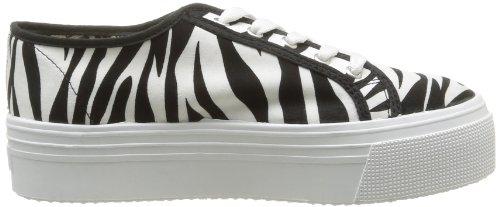 No Box  Alma,  Sneaker donna Nero (Noir (Zebra))