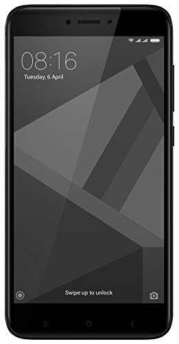 Redmi 4 (Black, 16 GB)