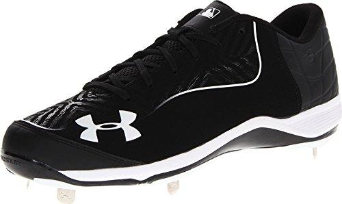 Under Armour 1246694, Herren Baseballschuhe Mehrfarbig schwarz/weiß