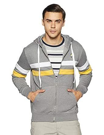 Amazon Brand - House & Shields Men's Sweatshirt (AW-18-HSS-13_2_Mid Grey Melange_X-Large)