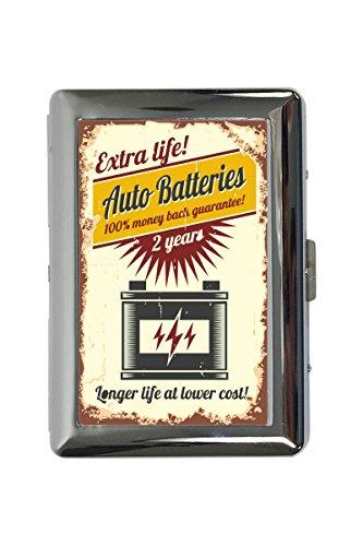 Zigarettenetui Box Oldtimer Auto Autobatterie Bedruckt