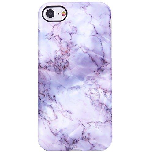 vivibin iPhone 7Fall, iPhone 8Schutzhülle, transparent Bumper Slim Fit stoßfest Kratzfest stabile matt Finish Schutzhülle für Regular iPhone 7811,9cm, 4.7