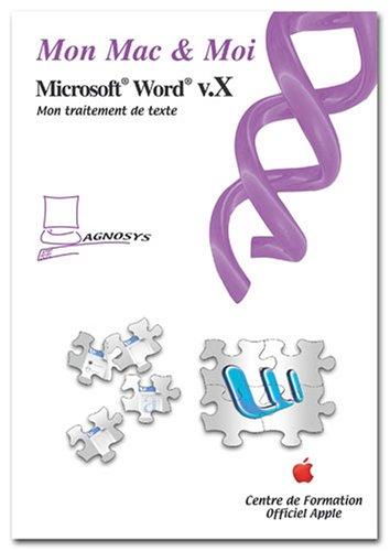 Microsoft Word v.X par Agnosys