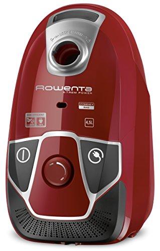 Rowenta X-Trem Power RO6843 - Aspirador con etiqueta energética AABA, triple filtración con bolsa de 4,5 l de capacidad, cepillo...