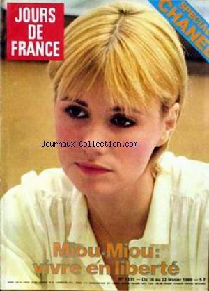JOURS DE FRANCE [No 1311] du 16/02/1980 - MIOU MIOU