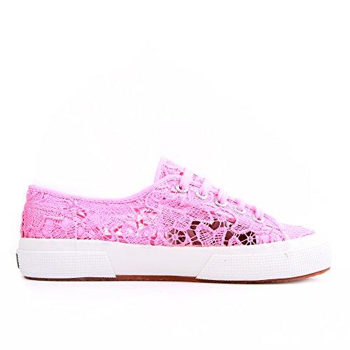 Superga 2750 Macramew, Chaussons Sneaker Adulte Mixte pink
